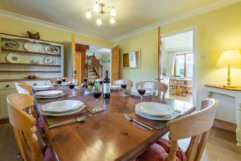 April Cottage Dining, Roserrow, Polzeath, Cornwall
