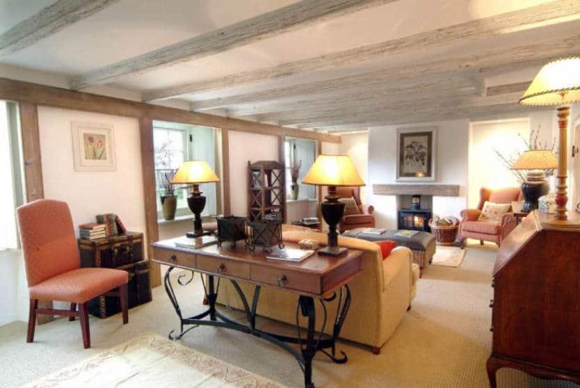 Bonython Farmhouse Sitting Room, Helston, Cornwall