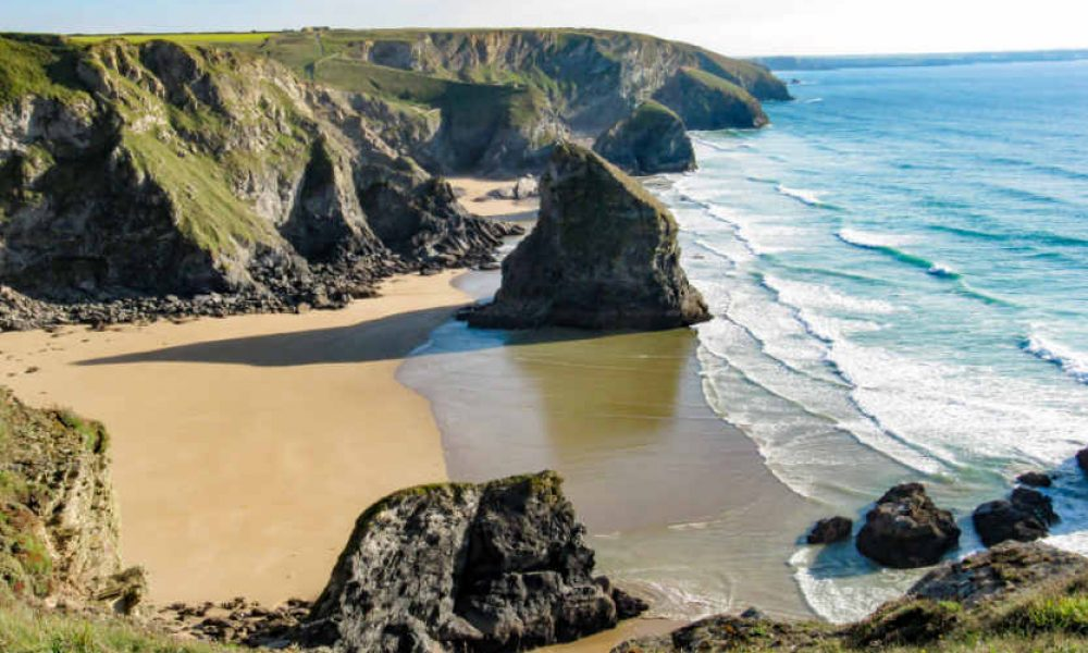 Bedruthan Steps Beach, Cornwall