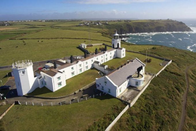 Lizard Lighthouse, cottages and visitor centre