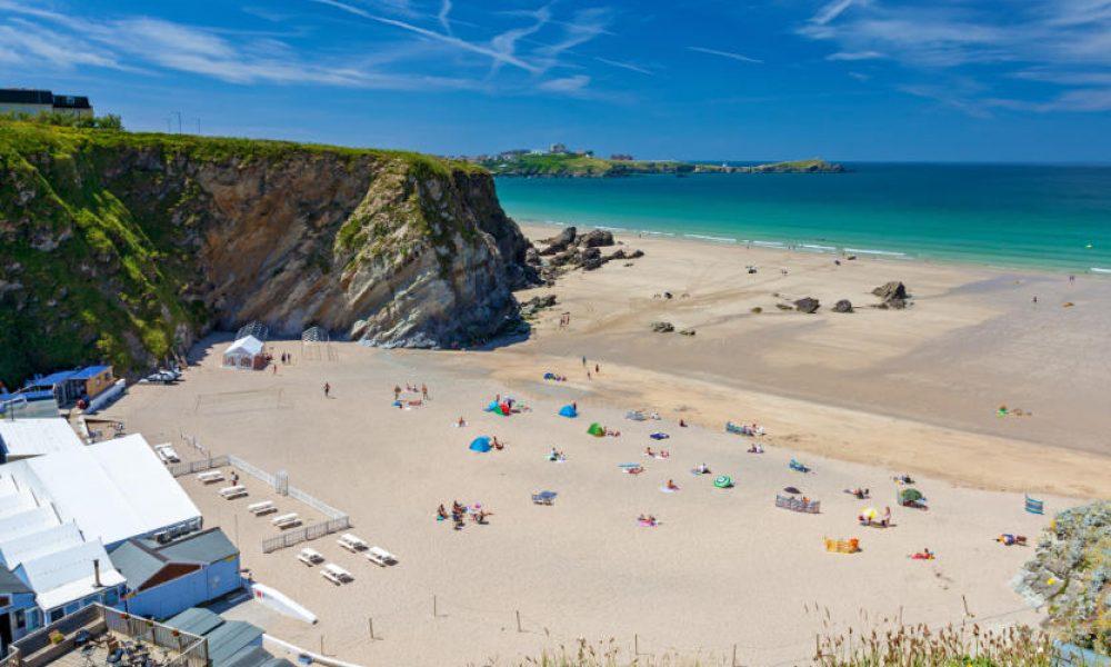 Lusty Glaze Beach Newquay Cornwall