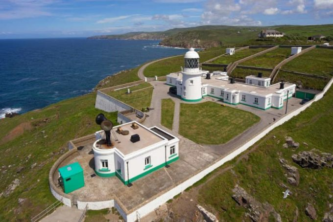 Pendeen Lighthouse and sea views