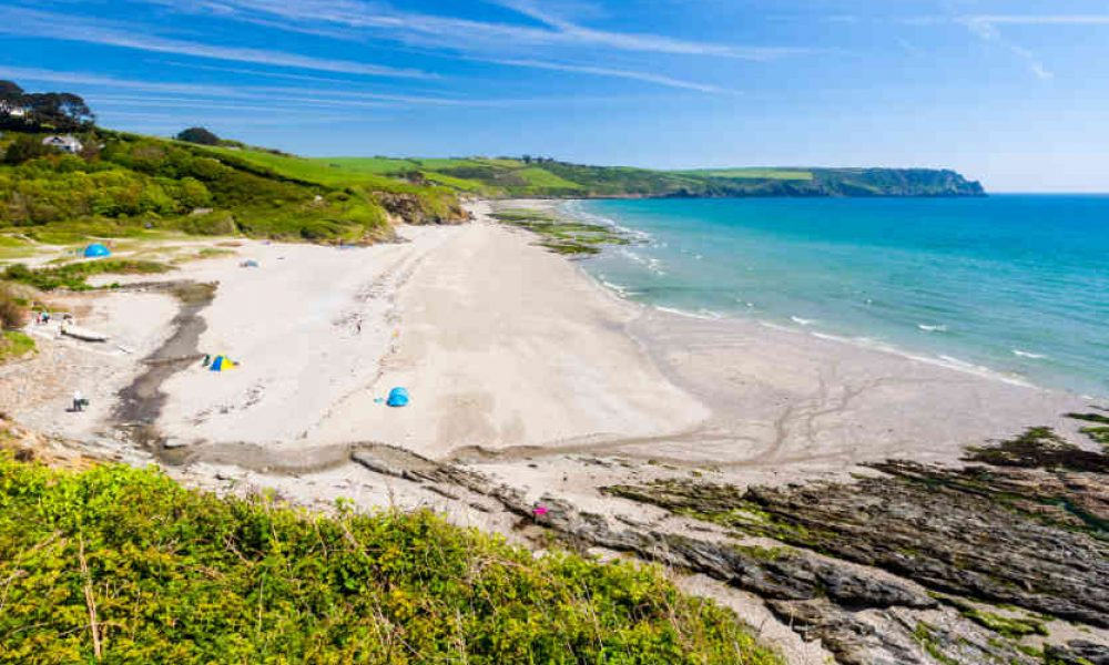 Pendower Beach, Cornwall