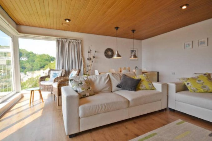 Living Room of Pilchard Rock