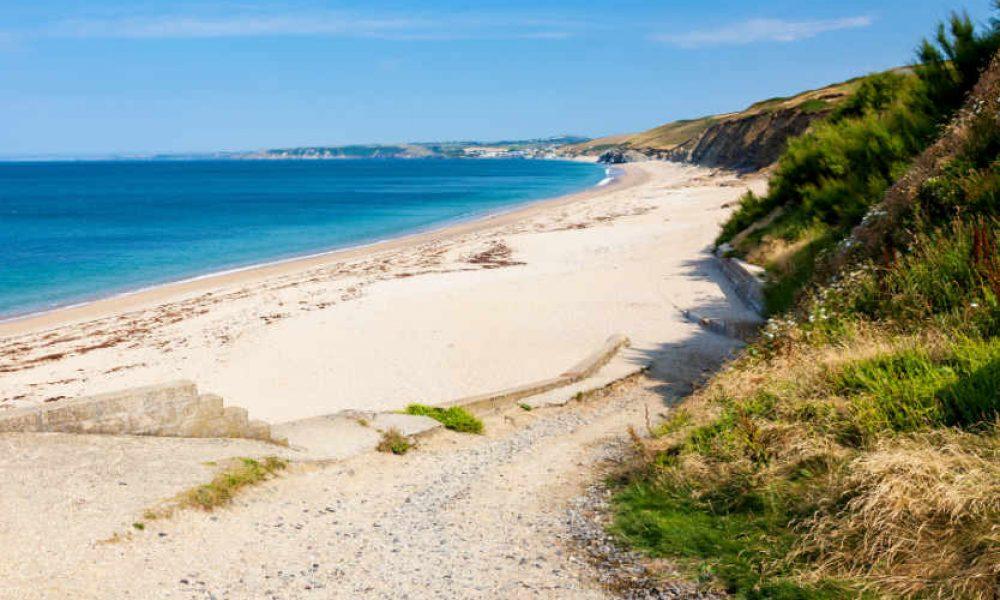 Porthleven Sands Beach, Cornwall