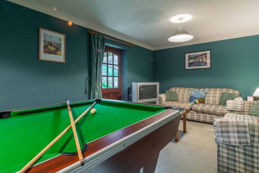 Keepers Cottage Games Room, Roserrow, Polzeath, Cornwall