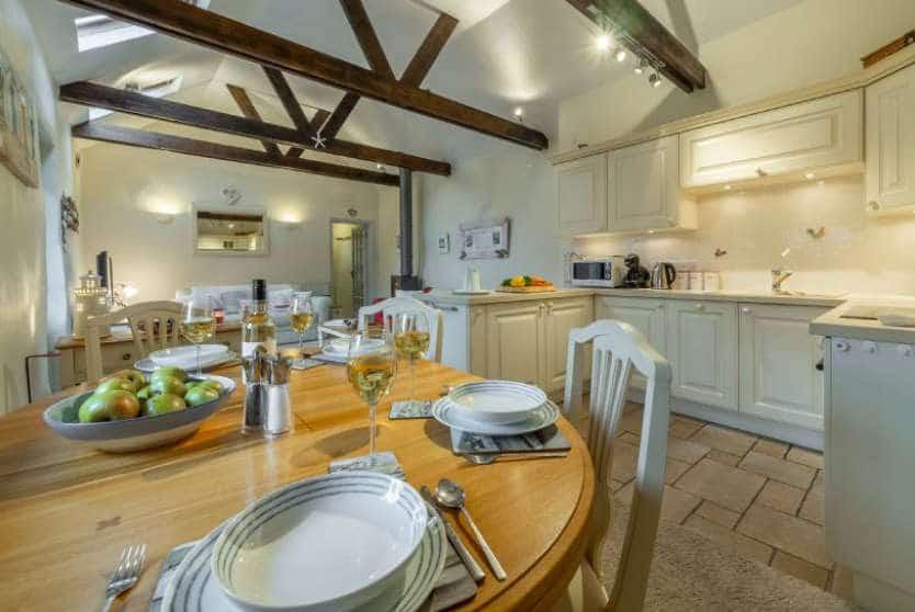 Little Gull Open Plan Dining, Roserrow, Polzeath, Cornwall