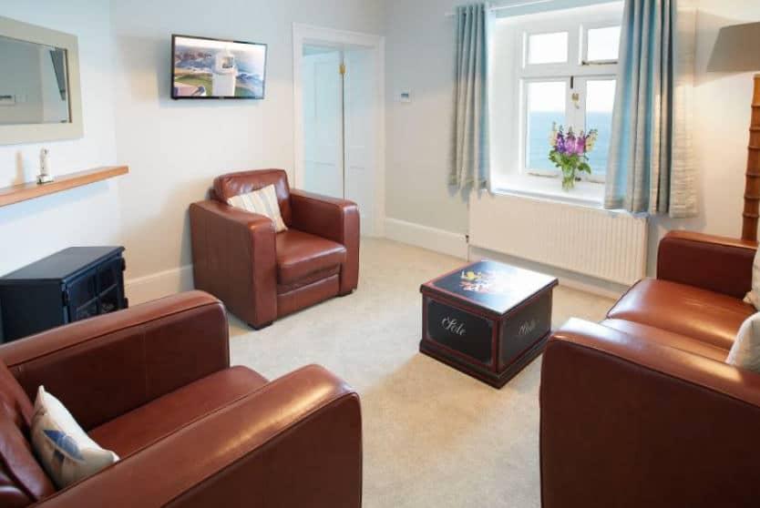 Nimbus Cottage Sitting Room, Trevose Head, Cornwall
