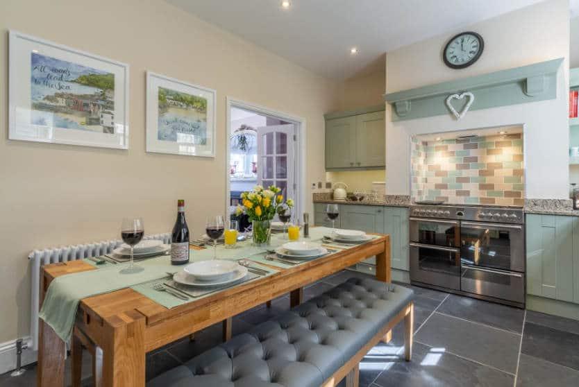 Place View Kitchen, Fowey, Cornwall