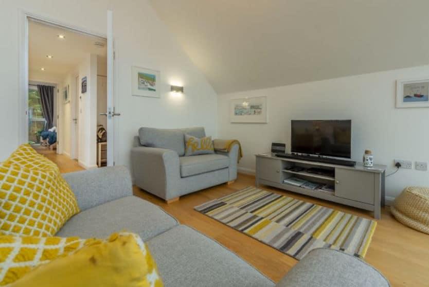Seasalt Loft Living Room Area, St Ives