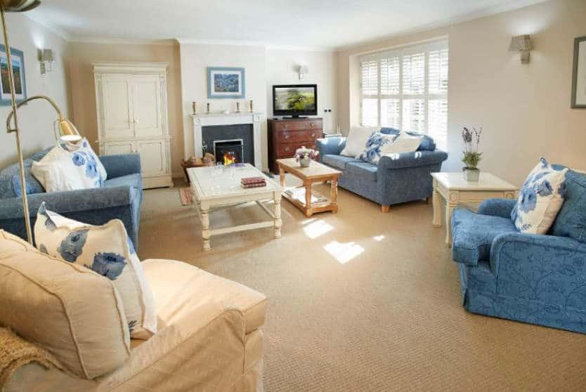 St Corantyn Cottage Sitting Room, Helston, Cornwall