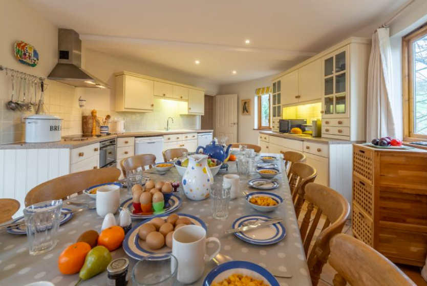 The Roundhouse Dining Kitchen, Roserrow, Polzeath, Cornwall