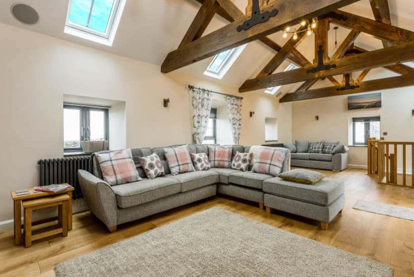 Trewethan Barn Living Room